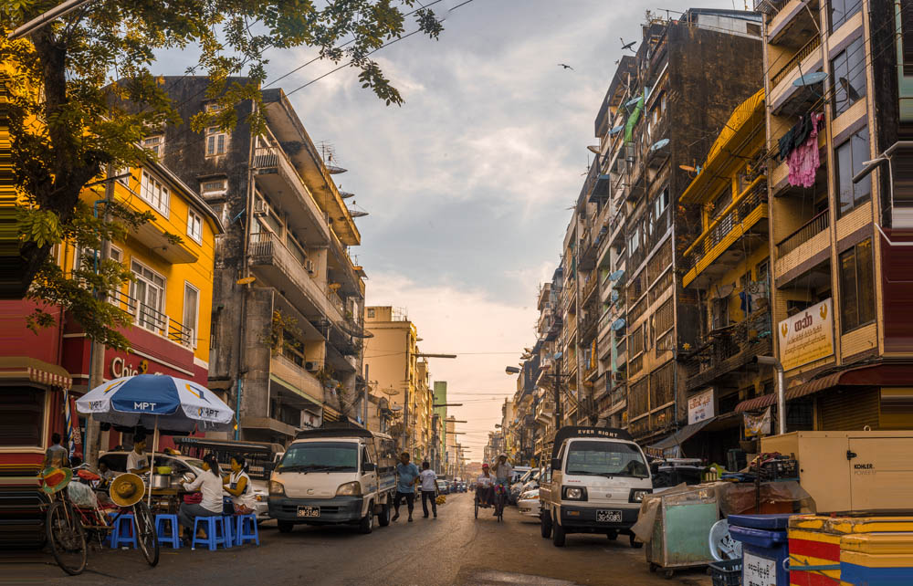 Streets of Yangon