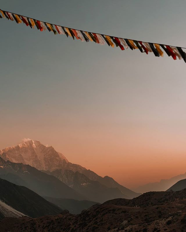 One of the first things you will notice in Nepal are prayers flags strewn everywhere. ⁣ ⁣ They accompany you to the remotest parts of the Himalayas and remind you that you are not alone.⁣ ⁣ #ppcolorstory #passionpassport @passionpassport⁣ ⁣ -----------⁣ ⁣ #voyaged #natgeoyourshot  #thatplace #himalayangeographic #GlimpsesOfCulture #NepalNOW⁣ #travelnepal  #trackingpoints⁣ #katmandu  #yogaretreat  #visitnepal #namaste #pilgrimage #yogatravel #bbctravel #lovepeoplenotthings #himalayas  #localmarket #explorenepal ⁣