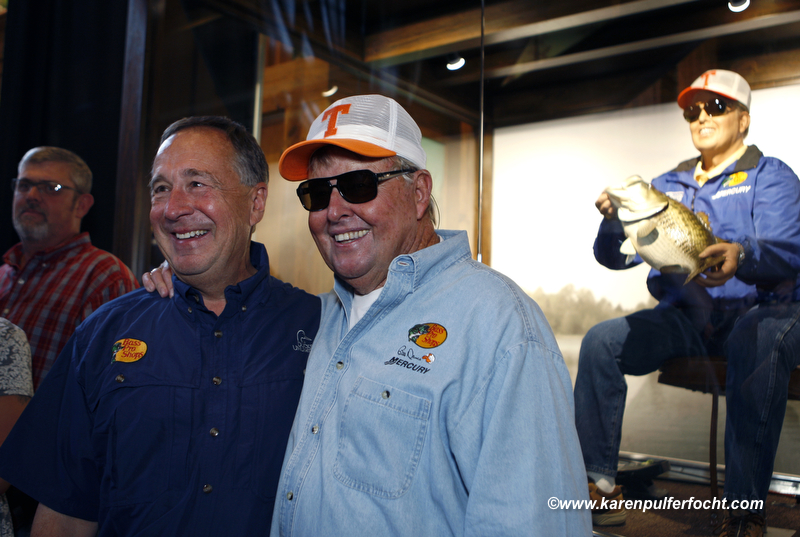 Bass Pro Shops owner, John L. Morris with Bill Dance