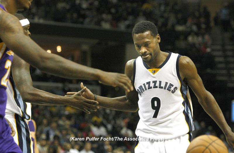 Memphis Grizzlies Tony Allen