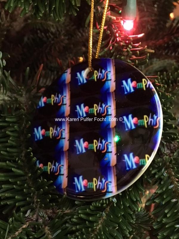 Memphis Ornament