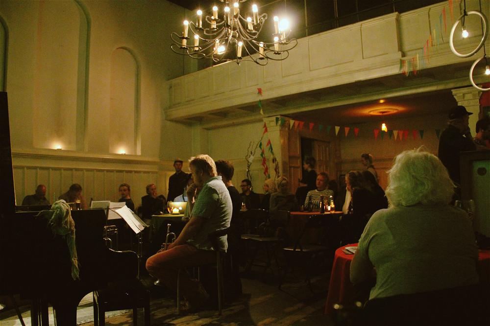 Simon Toldams Sten Sax Papir @ Literatur Haus