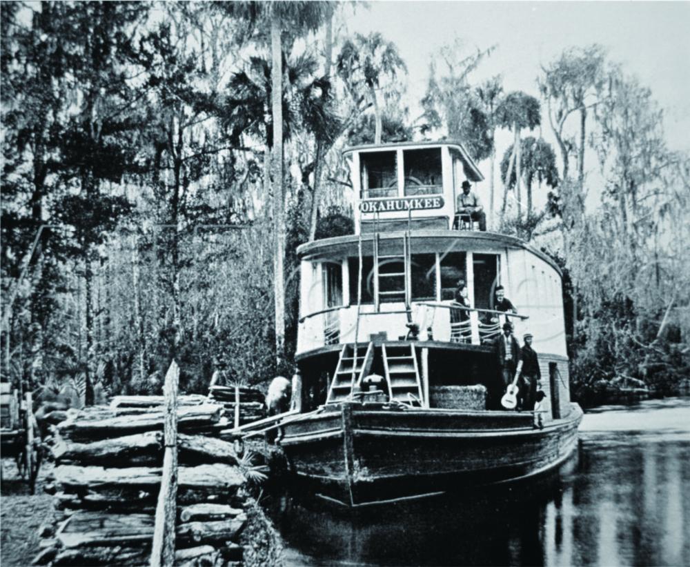 蒸汽船上的黑人乐手,佛罗里达州,1890年左右