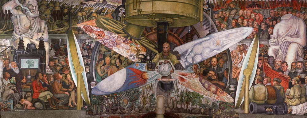 Diego Rivera painted what he saw, we write what we see !