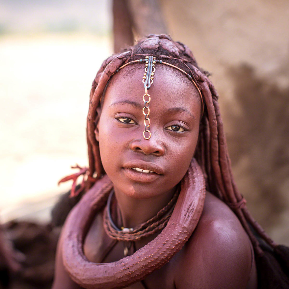 Himba GIrl - Canon 5D Mark   III, 50mm, f2.0, 1/500 sec, ISO 640