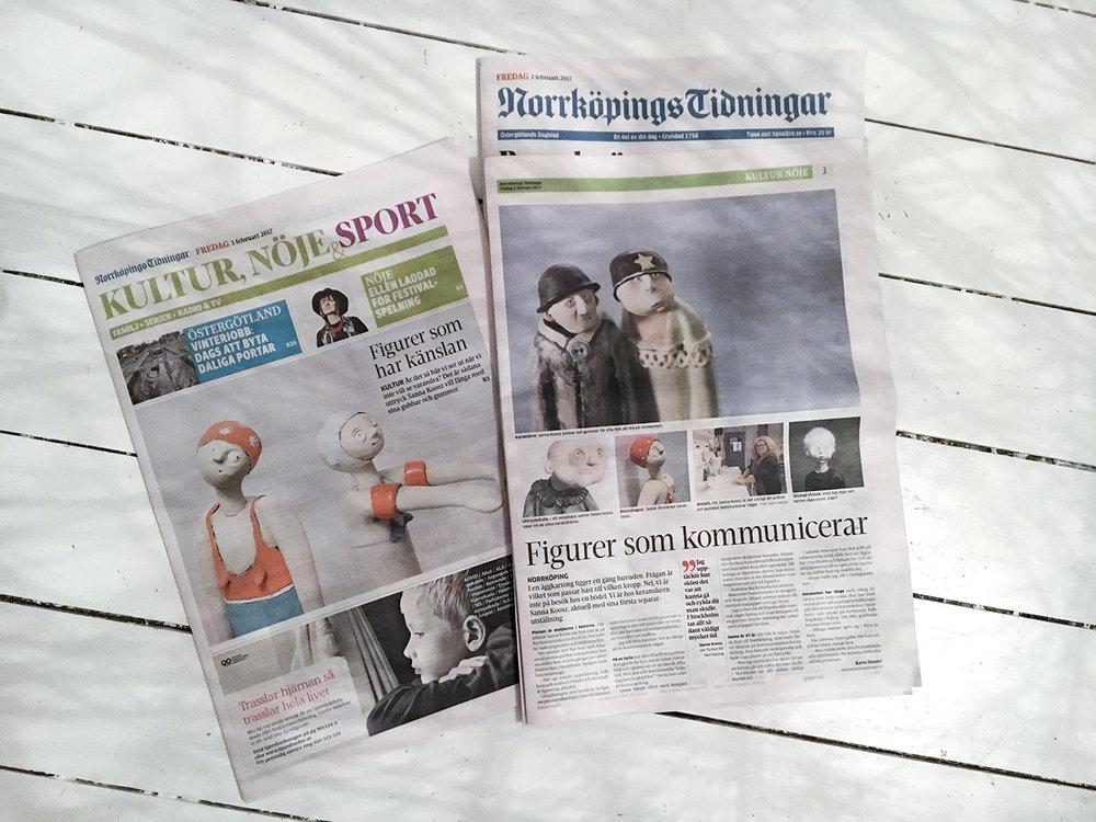 I pressen: 2017  Norrköpings Tidningar