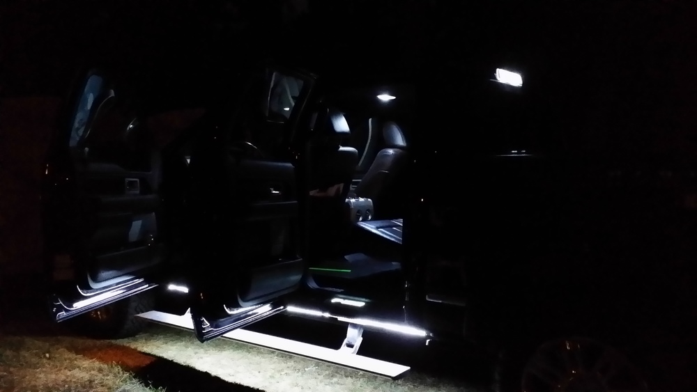 F150 LED Cargo Light Kit far shot