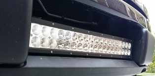 "F150LEDs F150 Lower Grille 22"" Inter-cooler LED Bar Image"