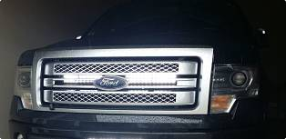 "32"" F150 LED behind the grill Light Bar 2009-14"