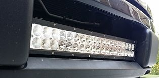 "22"" Lower Intake grill F150 LED Light Bar 2009-14"
