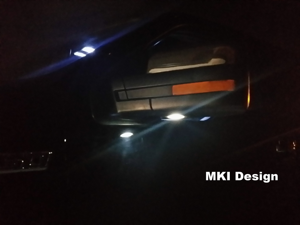 F150 LED Mark I Mirror Puddle Lamp Kit