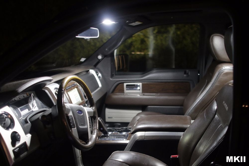 Custom Ford F150 Led Lights F150 Led Interior Map Light Kit Page