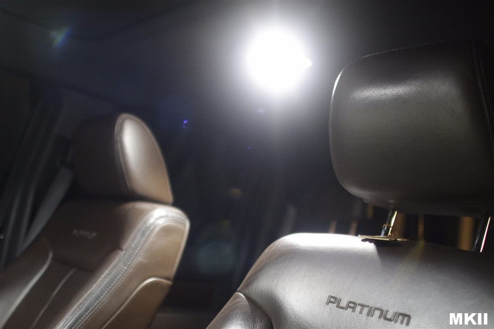 MKII F150LEDs Front Map Lights System