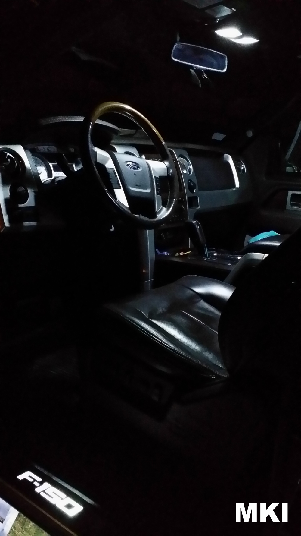 MKI F150LEDs Front Map Lights