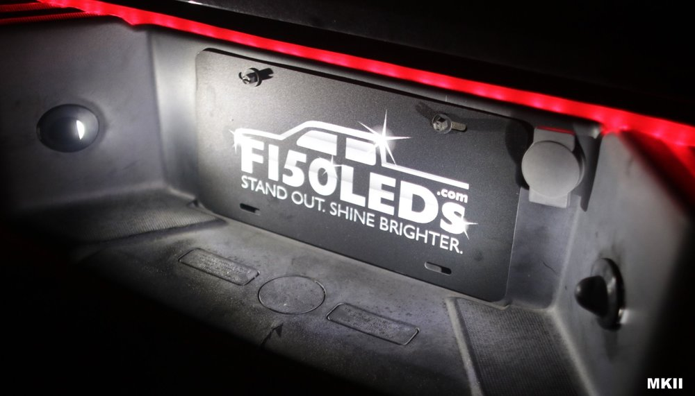 MKII F150LEDs F150 LED Tag License Plate Lights