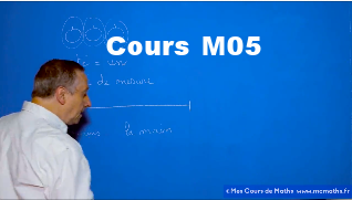 Cours MCMAths 2nde M05