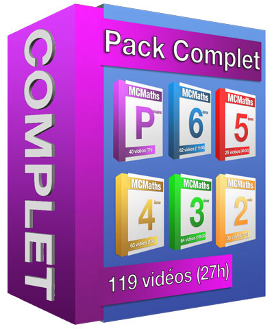 pack complet mcm maths