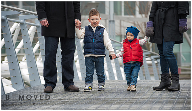 A family session on a foggy day in Vancouver - BEMOVED Pictures, Vancouver Family Photographers