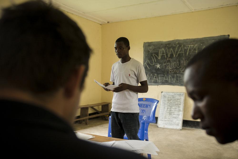 Entrepreneur Alfa Harod Mgasa
