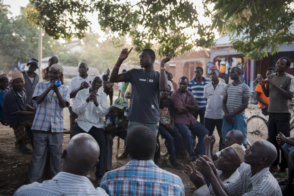 Elders mobilisation meeting