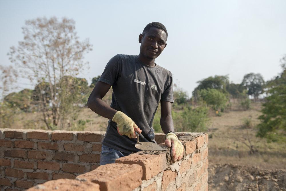 Volunteer Sadick Issa