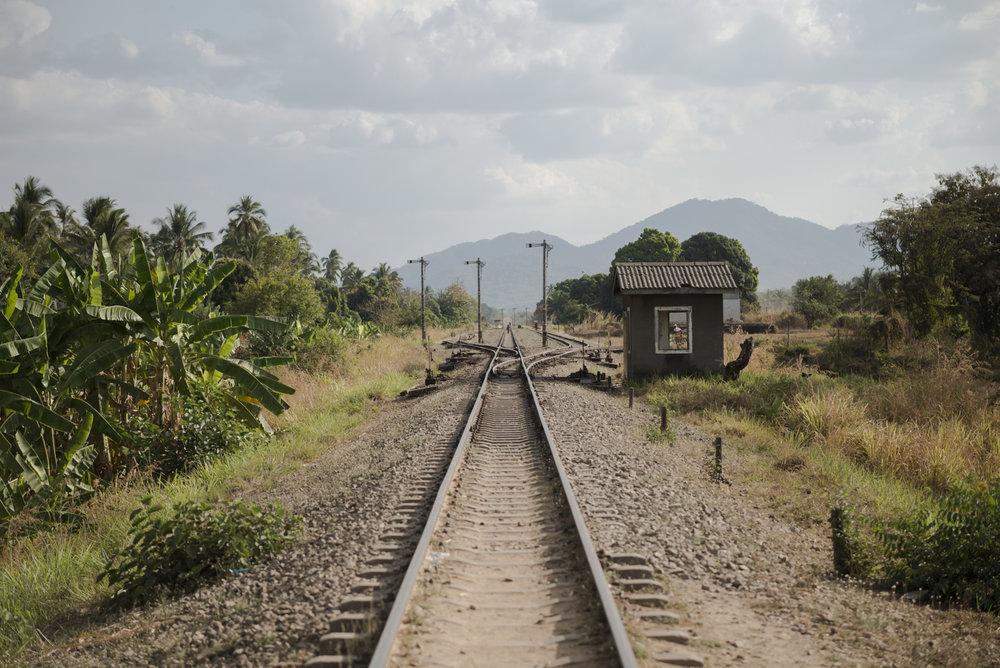 Train tracks in Nyamwezi