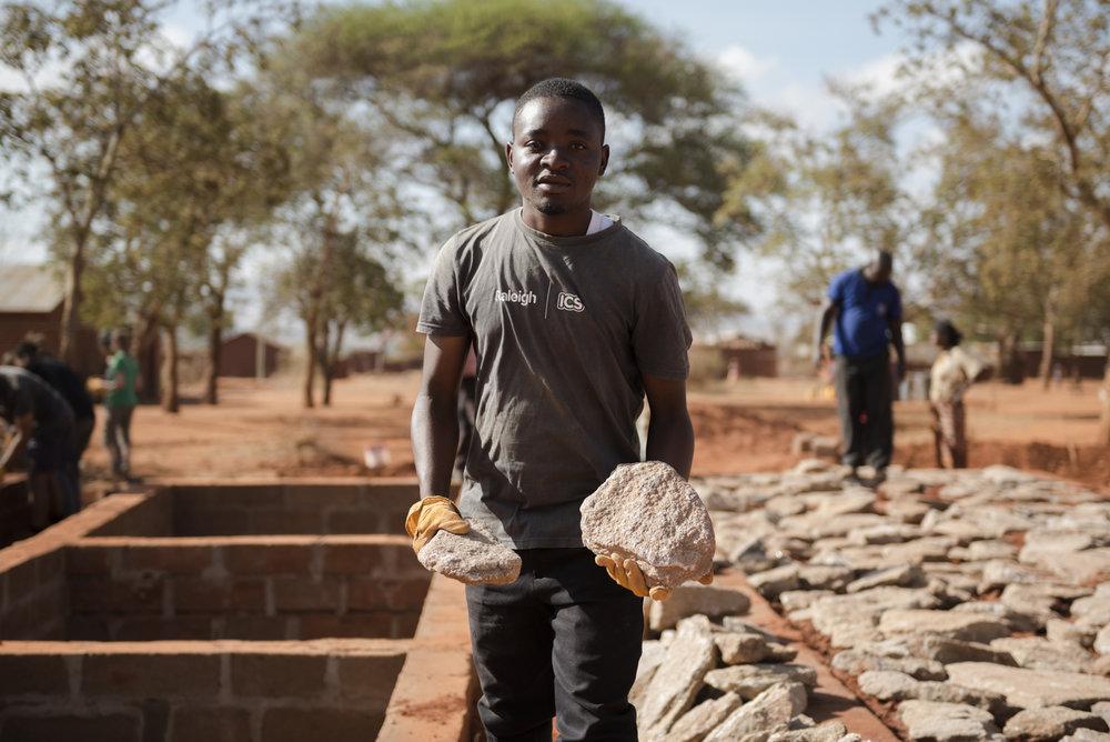 Volunteer Shaibu Ahmad