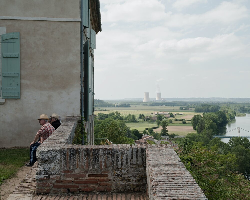 The viewpoint at Auvillar