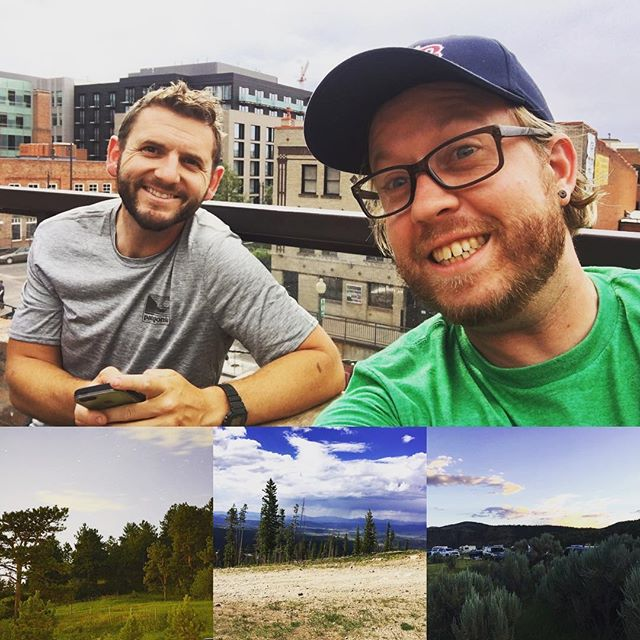 Had a blast with @jtjohnboy and @br.ave.ry in Colorado!