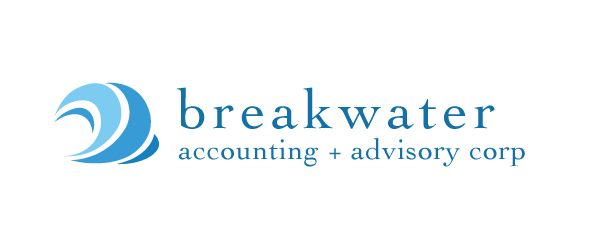Breakwater Accounting & Advisory Corp / Logo Design