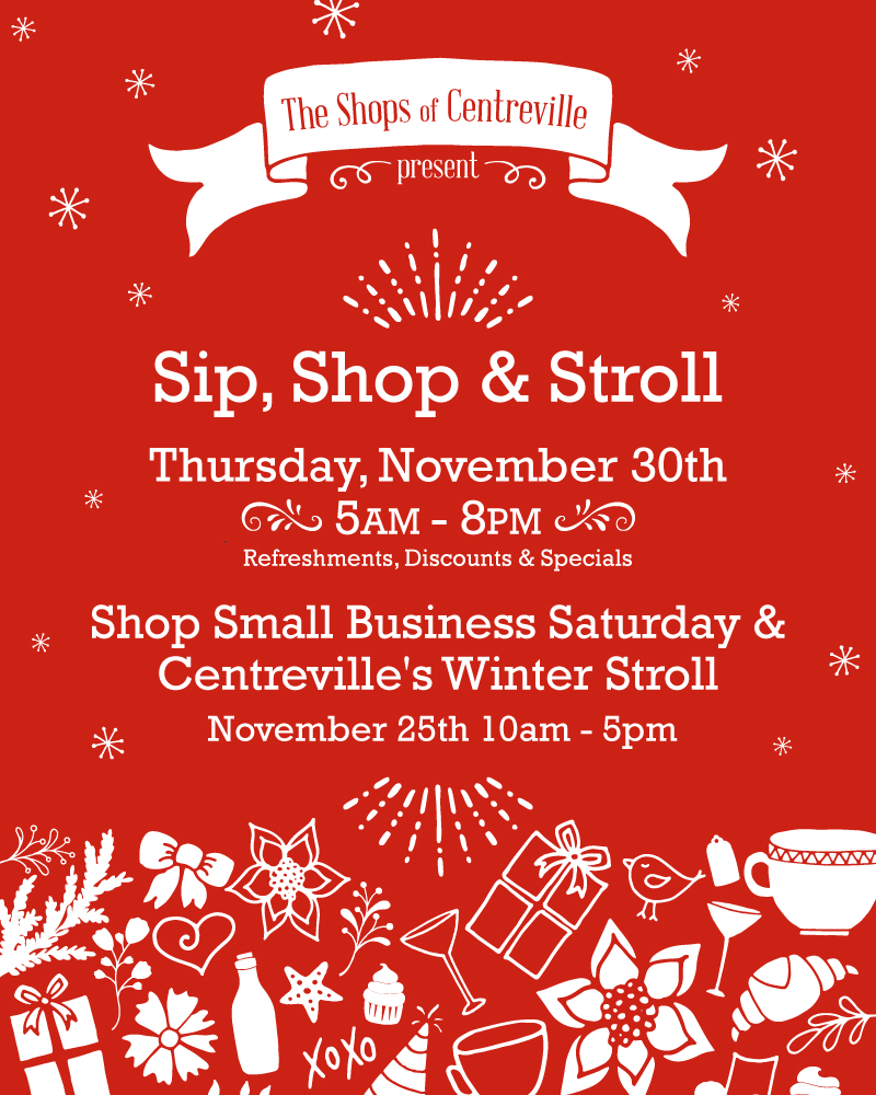 The Shops of Centreville / Social Stylate / Event Poster Design