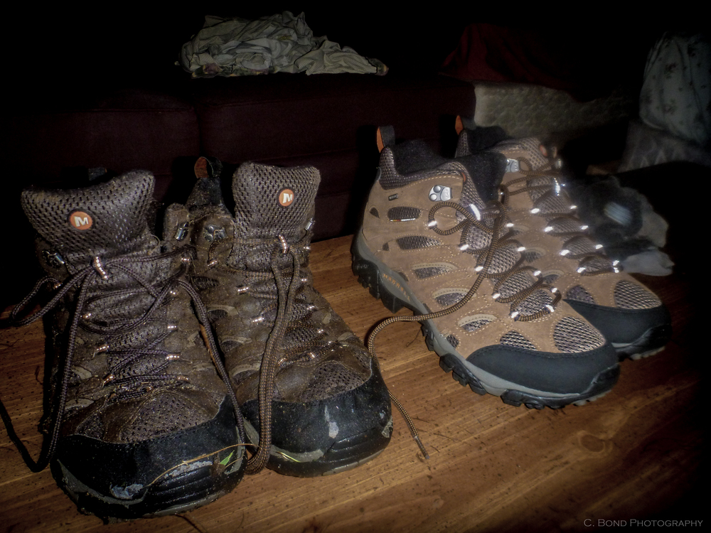 Plan on going through 2-3 pairs of shoes over the course of the trail