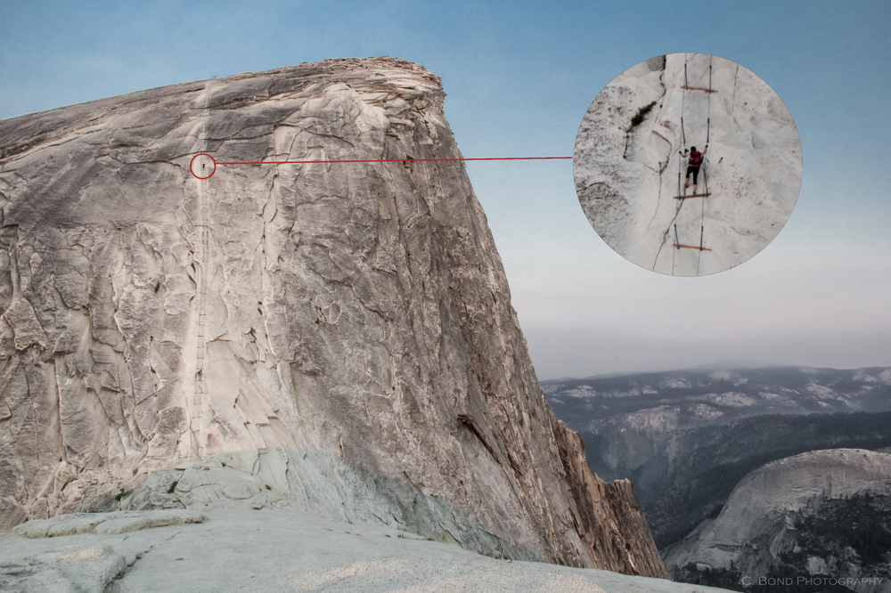 Day 2, Thursday 7/31: Half Dome Cables