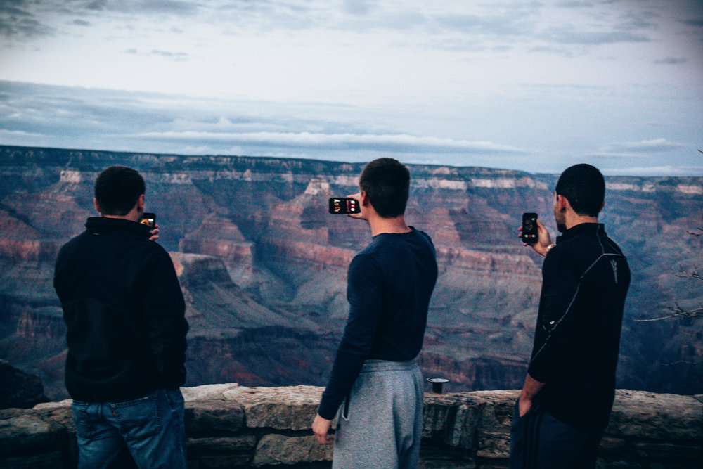 Among other reasons, it could lead to less bros facetiming at the rim of the Grand Canyon.
