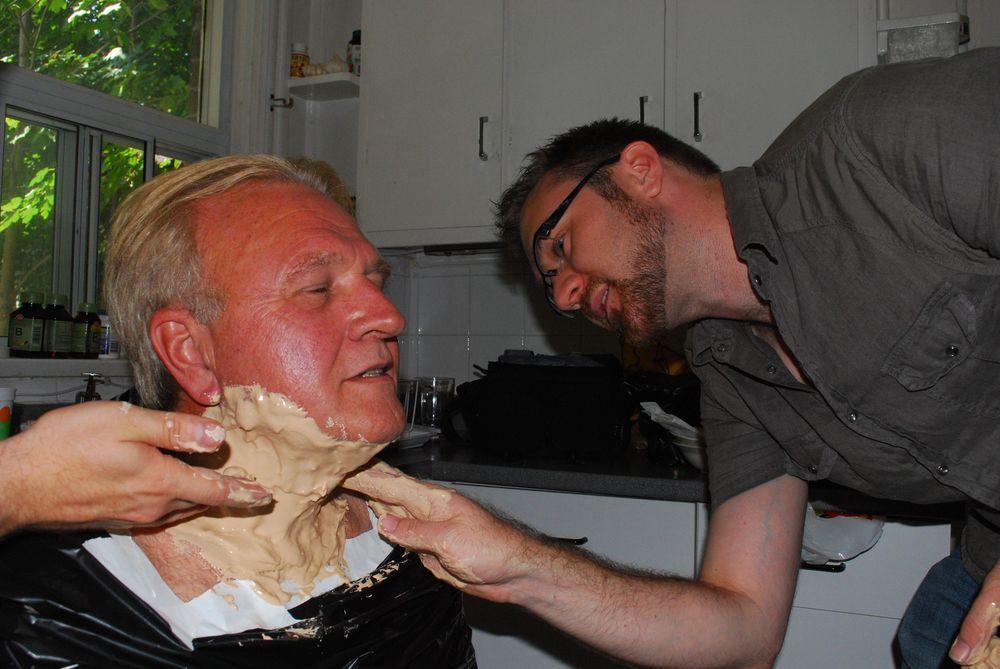 Ken Olsen & Special Effects Make-up Supervisor Russell Challenger