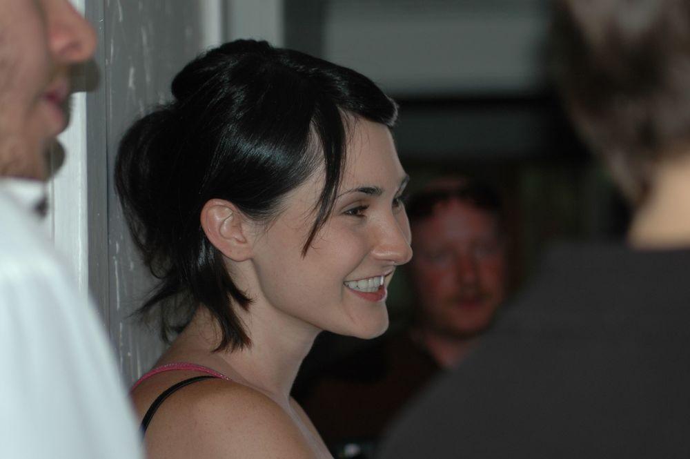 """Actress Saffron Cassaday as """"Jen"""""""