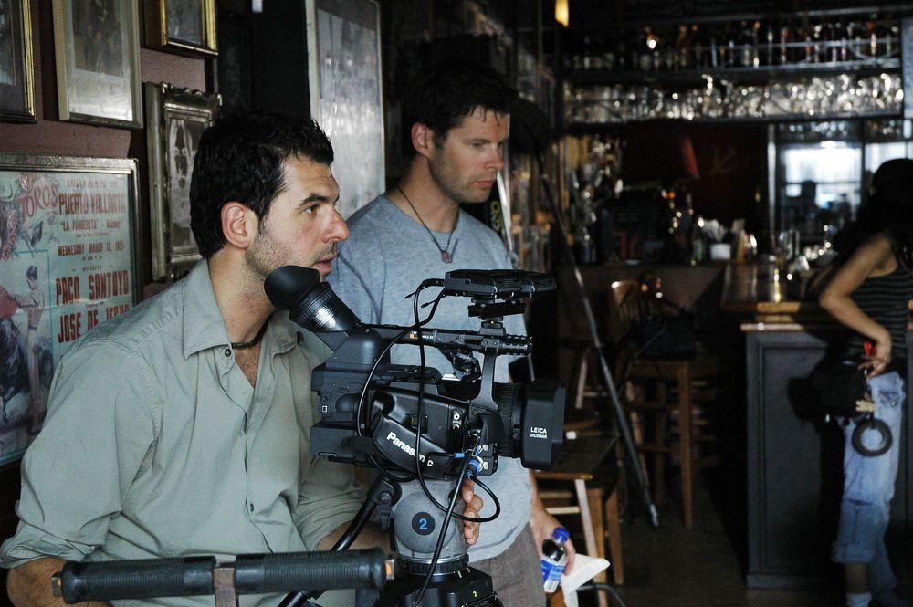 Cinematographer Alex Dacev & Dolly Grip Jeff Wachsmann