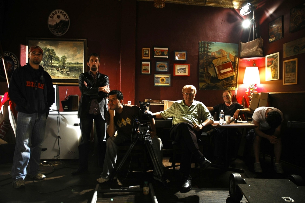 Associate Producer Tony Pacella, Leon Bearman, Alex Dacev, Ken Olsen, Brian Scott & Isaac Visaretis