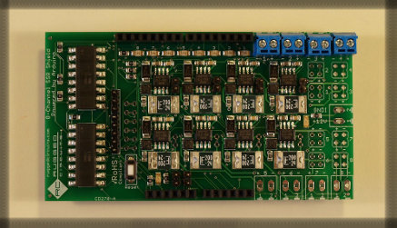 8-channel relay shield