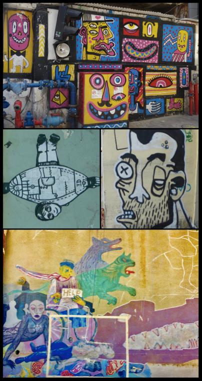 Tel Aviv street art.