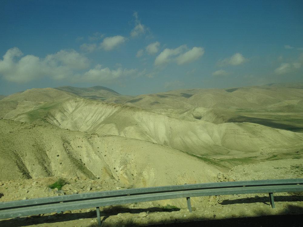Judean desert hills.