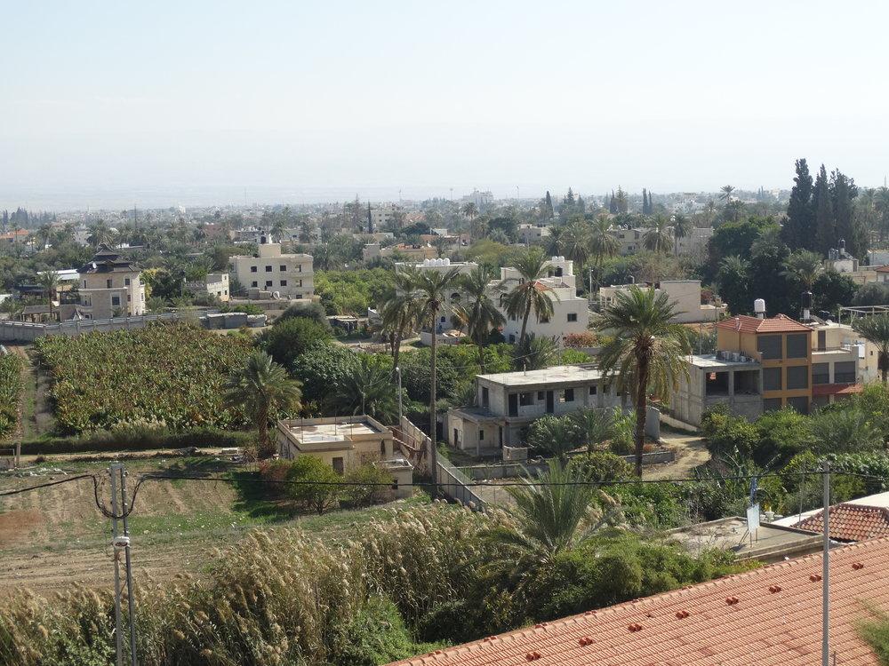 The city surrounding Jericho.