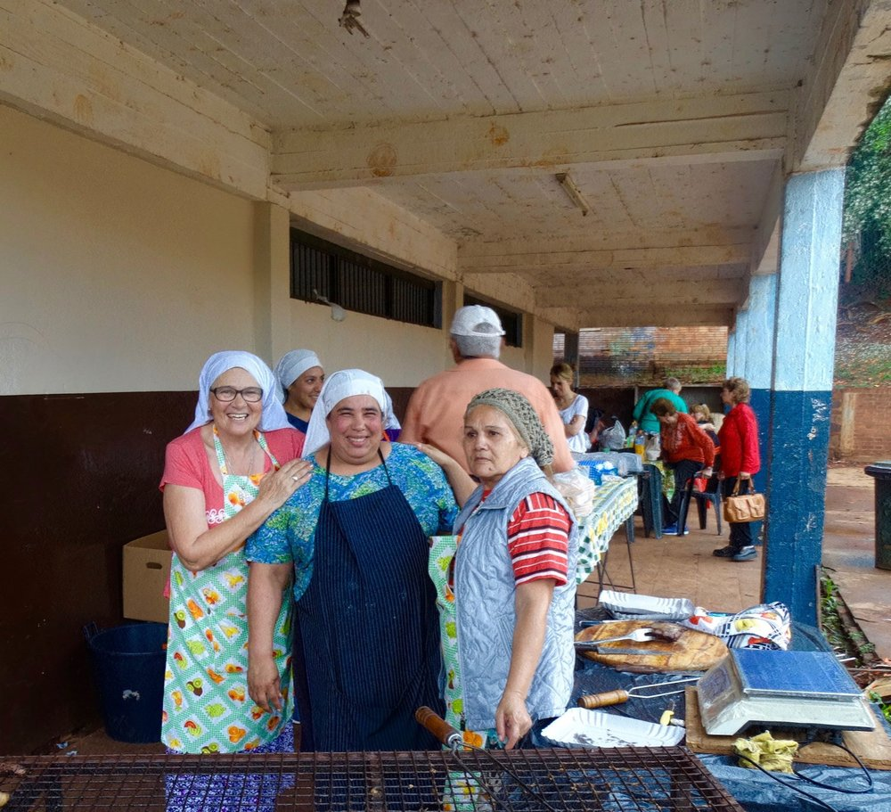 The nuns at this convent make the best barbecue in all of northern Argentina.