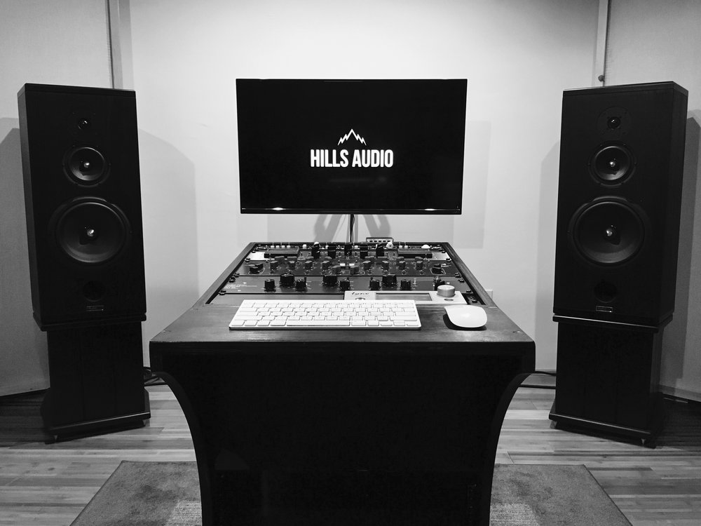 Hills Audio Mastering Suite in Santa Fe, NM -  Photograph by Brandon Soder