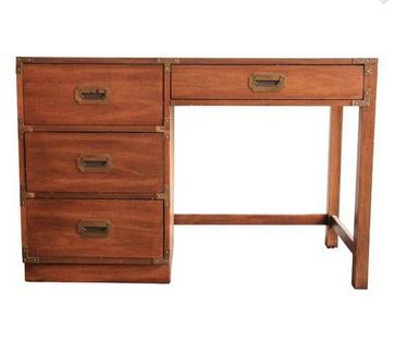 Vintage Campaign Desk