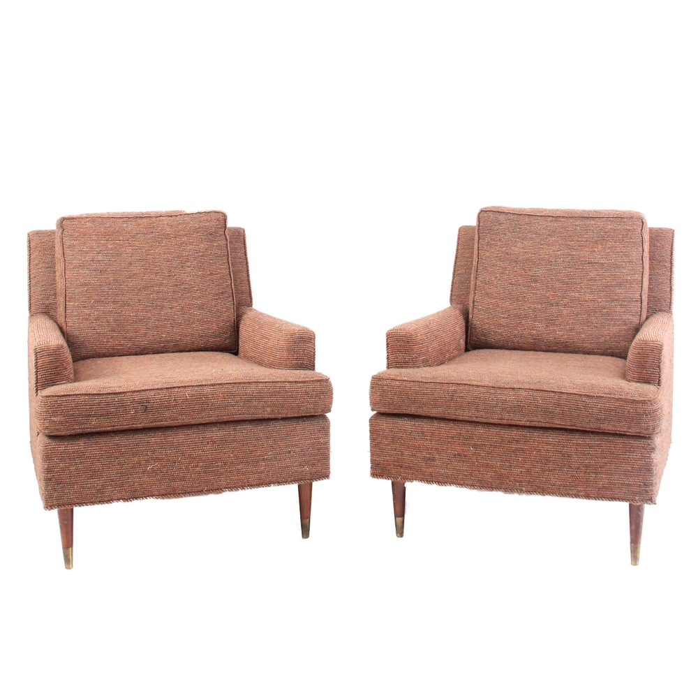 Pair of Mid Century Modern Living Room Chairs