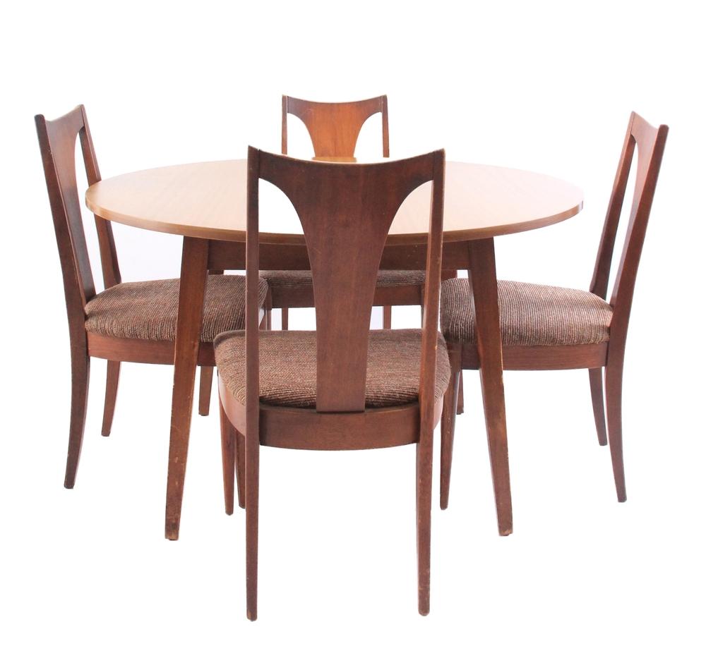Vintage Mid Century Modern Dining Room Set