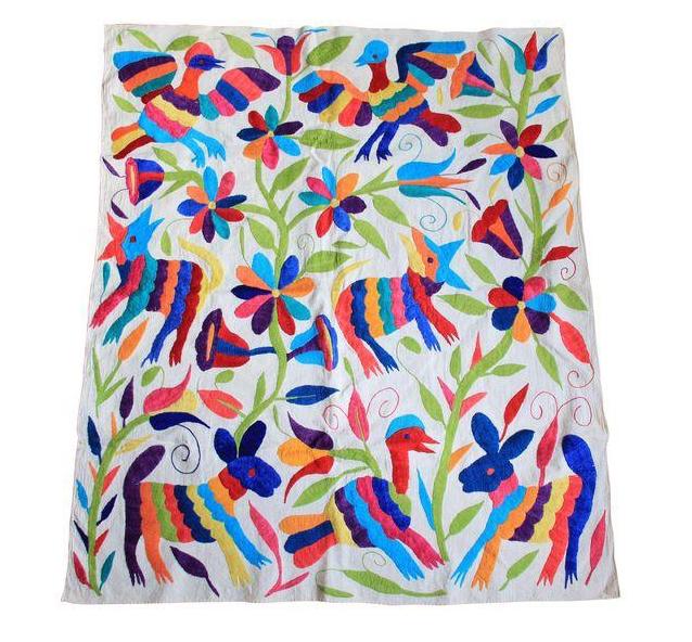 Vintage Otomi Fabric