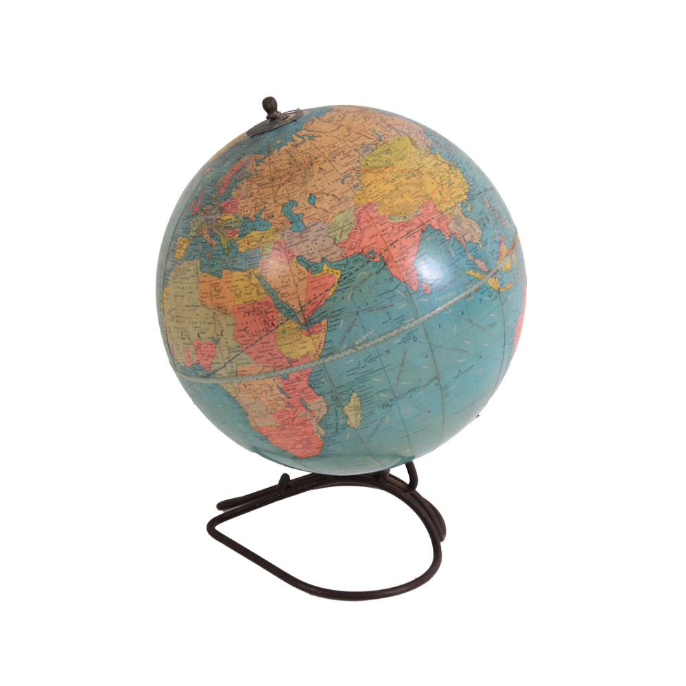 "Vintage 10"" Replogle Globe"