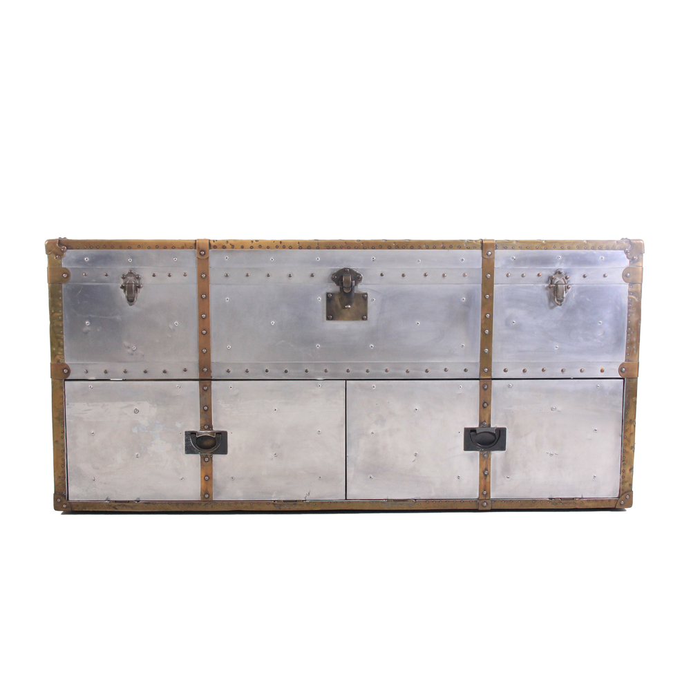 Industrial Trunk Media Console